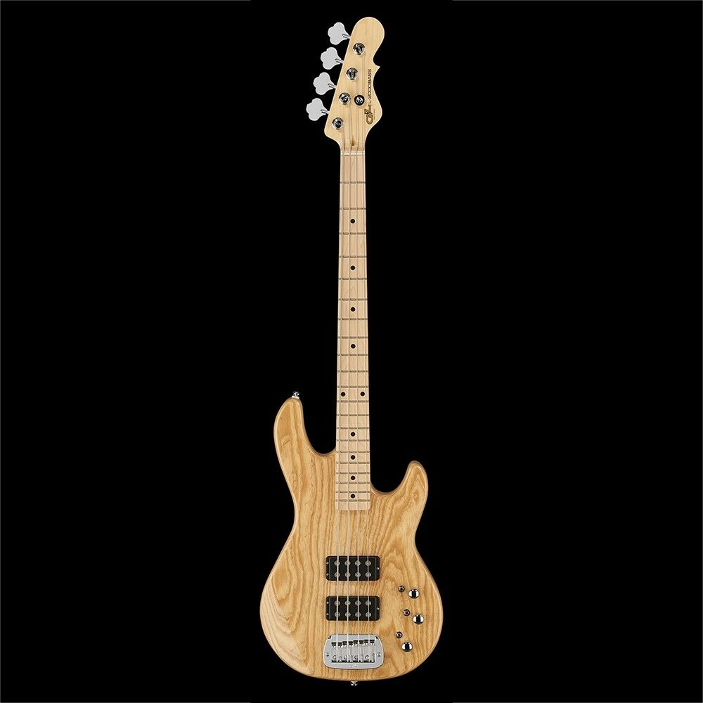 G&L Tribute L-2000 Electric Bass, Maple Fingerboard - Natural Gloss