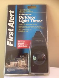 First alert automatic outdoor light timer ls656 29054545800 ebay image is loading first alert automatic outdoor light timer ls656 aloadofball Images