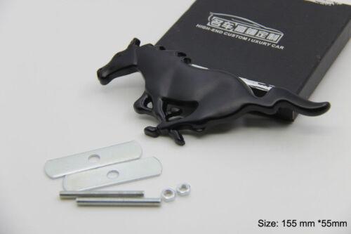 B270 Pferd 3D Kühlergrill vorn Emblem Badge car Sticker Frontgrill schwarz