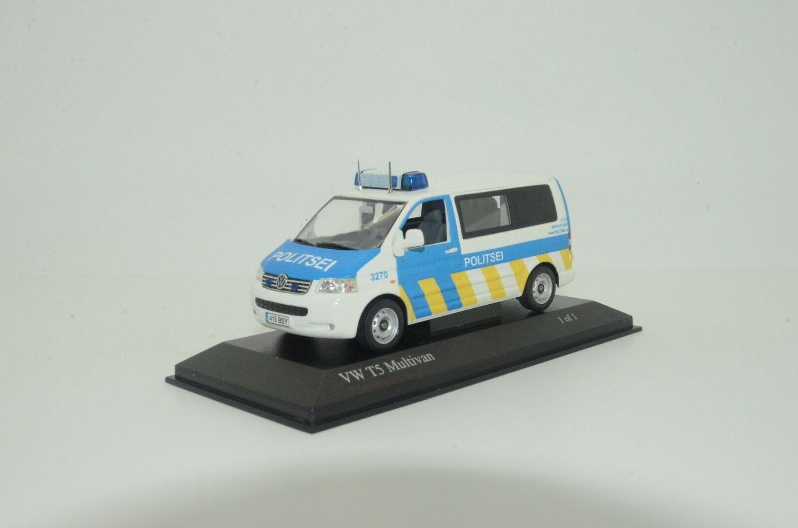 Rara ¡Rara - Sí.Volkswagen t5 policía de Polizei Estonia