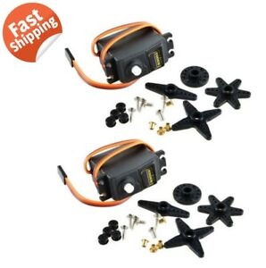 2x-S3003-Standard-High-Torque-Servo-For-RC-Car-Airplane-Boat-Quadcopter-Gear-US