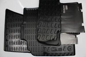 Original Audi Q5 8R 2009-2017 Allwettermatten Fußmatten SET