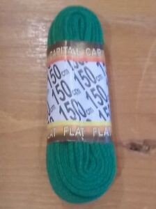 Green Shoe Boot Trainer Laces  150 cm  Flat  LONG 150cm - ILKLEY, West Yorkshire, United Kingdom - Green Shoe Boot Trainer Laces  150 cm  Flat  LONG 150cm - ILKLEY, West Yorkshire, United Kingdom