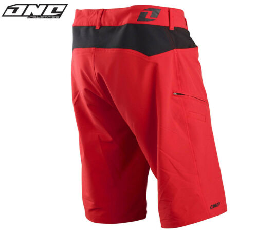 One industries Atome Vélo Vtt Short Rouge Cyclisme Trail Equitation Hommes