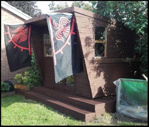 Viking Banner Odinic Raven Flag Norse Pagan//Heathen Odin Thor Loki Bifrost bn