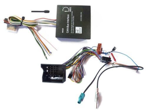 Dietz Can-Bus Interface set para bmw 1er 3er 5er x3 x5 x6 mini AB 2003 66020 6611