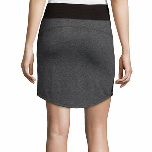Xersion Studio Knit Skirt Size XL New Msrp $30.00 Black//Grey
