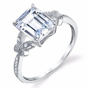 925-Sterling-3-Carat-Emerald-Cut-Solitaire-CZ-Engagement-Ring-Dainty-Butterfly