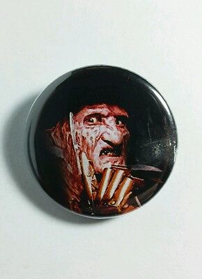 "A Nightmare On Elm Street Freddy Krueger Messer Film 1.25 "" Pinback Button"