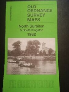 Old Ordnance Survey Maps North Surbiton /& South Kingston Surrey 1932 S 12.04 New