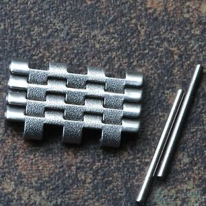 4-NOS-spare-links-for-NSA-watch-band-steel-7-row-brushed-amp-polished-bracelet