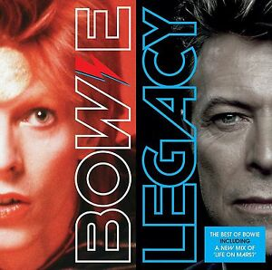 DAVID BOWIE LEGACY CD (Very Best Of) (New Release 2016) 190295919900