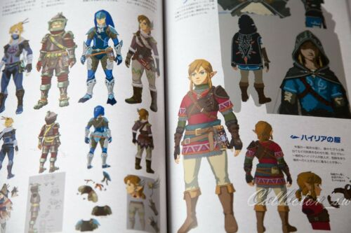 2-4 Days USLegend of Zelda Breath of the Wild Master Works Art Book