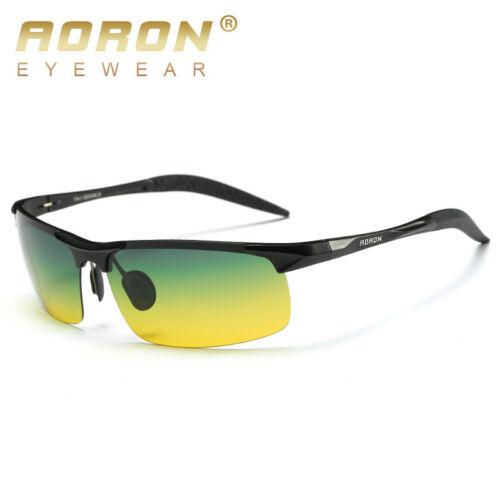 2019 Men/'s Day Night Photochromic Polarized Sunglasses for Drivers UV400 Glasses