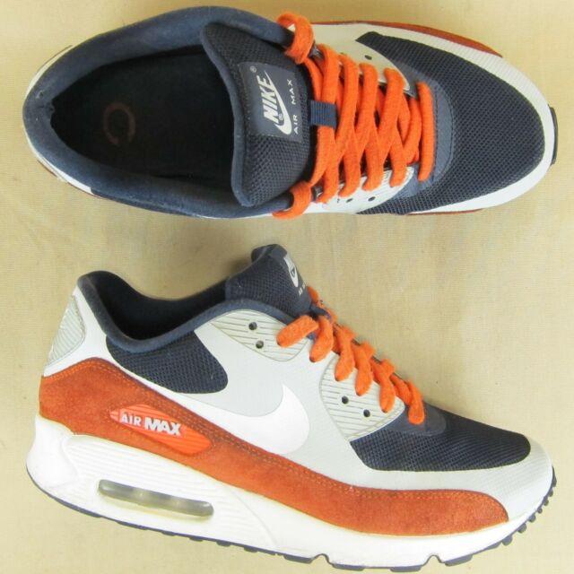 17bb0aa0 Rare Nike Air Max '90 Chicago Bears Sneaker 542051-406 US 8.5 EU 42 Men  Leather
