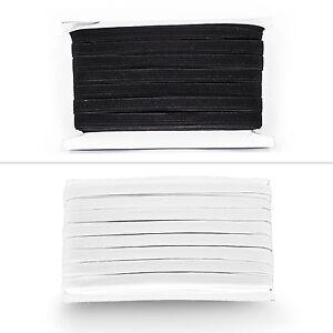5-mm-elastique-extensible-Bandes-plat-Cordon-de-taille-a-Coudre-Vetements-Pantalons-Lingerie