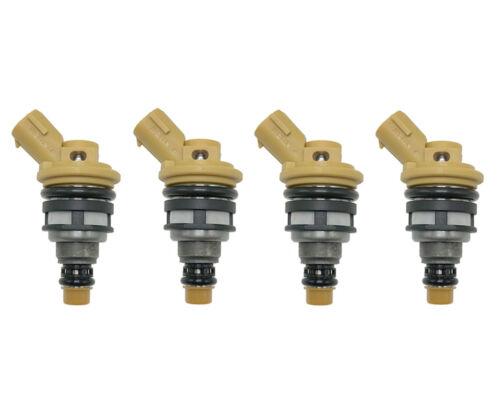 4 X 650CC Side Feed Fuel Injectors FOR SUBARU WRX STI EJ20 EJ25 E85