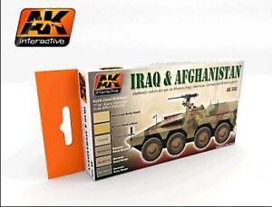 Ak Interactive-l' Irak Et L'afghanistan Set # Ak00558/--afficher Le Titre D'origine 2019 Nouveau Style De Mode En Ligne
