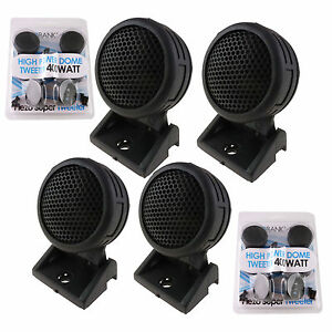800W-Mini-Car-Dome-Tweeters-2-Pairs-AB-204T-Total-Super-High-Frequency