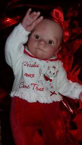 Bambola Reborn Baby Doll Réaliste Nouveau-né Réaliste Vinyle À La Main