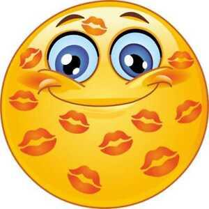 Kuss smileys und männer Emoji Bedeutung:
