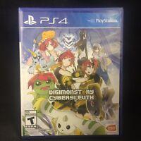 Digimon Story: Cyber Sleuth (sony Playstation 4, 2016) Brand / Region Free