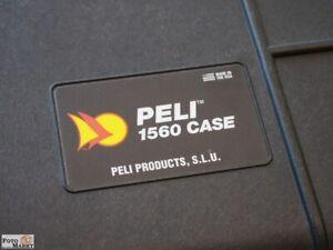 Peli 1560 SC Valigia DSLR + Obiettivo Acqua- E Antipolvere, Infrangibile Nuovo