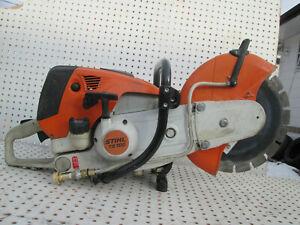 Stihl-TS700-Concrete-Cut-off-14-034-Saw-nice-blade
