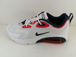 Dettagli su Nike Air Max 200 Uomo Originali CT1262-101 numero 45 eur ( 11 Us )