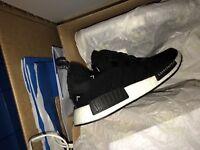 Købe Adidas Nmd R1 Prime Knit Herresko Hvid Gum