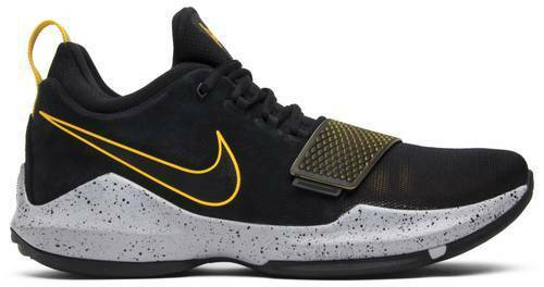 Nike PG 1 Paul George Black Gold Grey