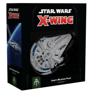 Star-Wars-X-Wing-Second-Edition-Landos-Millenium-Falcon-Expansion-Pack-NEW