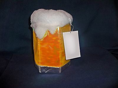 BEER MUG STEIN BAR BAG PURSE HANDBAG COSTUME ACCESSORY UAA1023