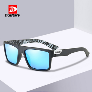 DUBERY Mens Sport Polarized Sunglasses Outdoor Driving Riding Eyewear With Box
