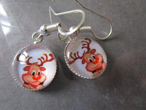 Christmas drop earrings