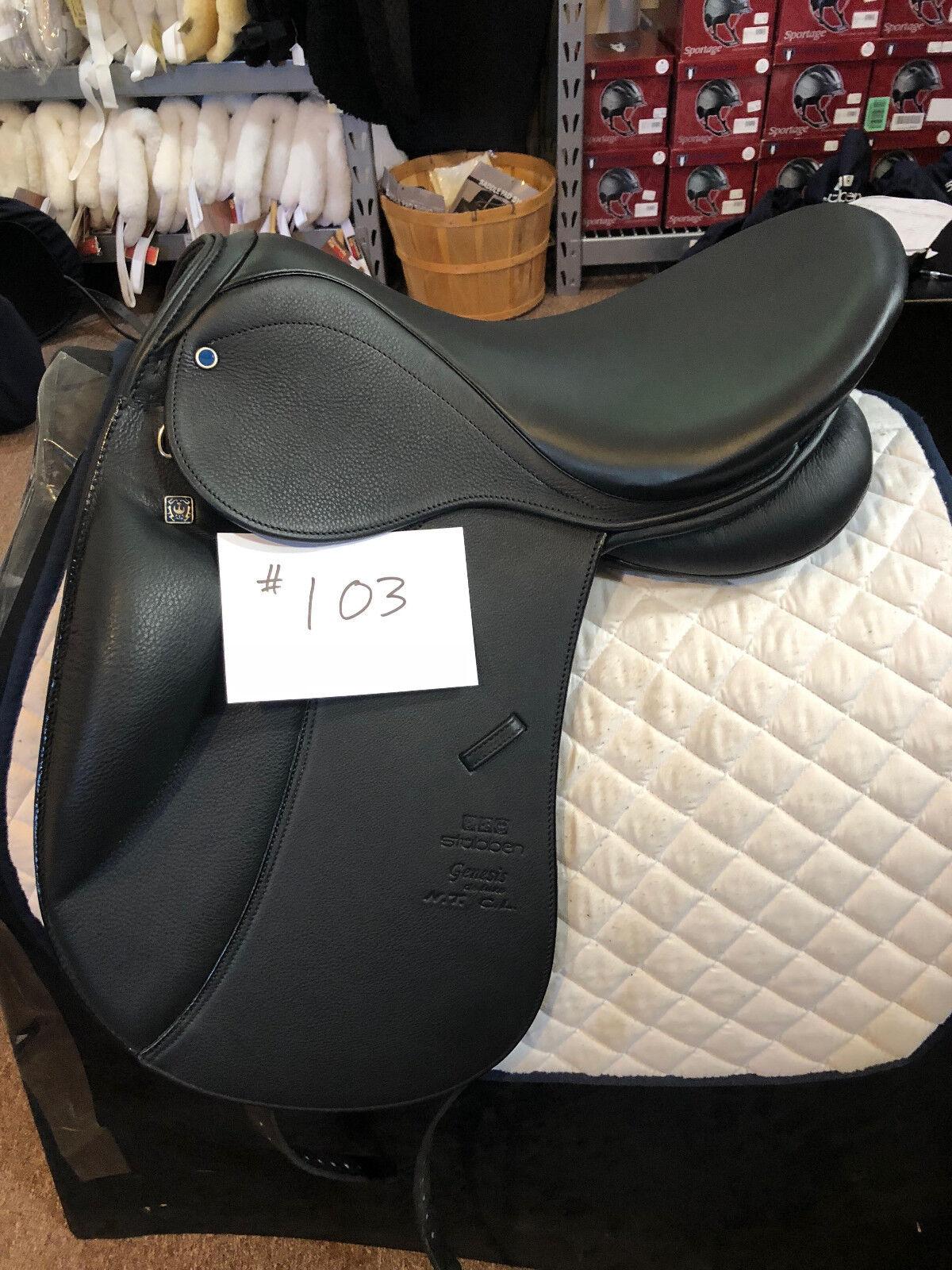 NEW Stubben D Genesis CL NT Dressage Saddle Deluxe Leather 17 31cm