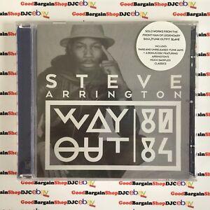 Steve-Arrington-Way-Out-CD-2014-New-amp-Sealed