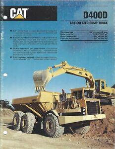 Equipment-Brochure-Caterpillar-D400D-Articulated-Dump-Truck-1989-E4067