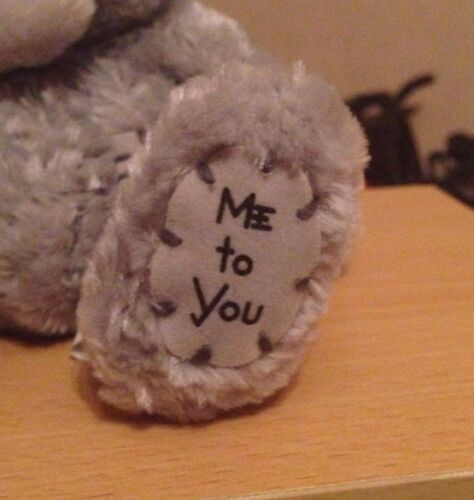 Me To You 4 /& A Half Inch Sad//Crying With Tissue Grey Beanie Bear