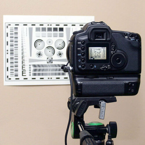 Test Chart for Nikon D5100 Digital SLR Camera /& Lens