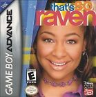 That's So Raven (Nintendo Game Boy Advance, 2004)