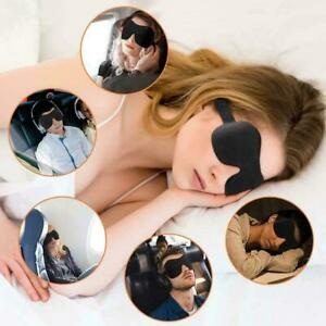 Sleeping-Nap-Eye-Masks-Adult-Teen-Travel-Flight-Blindfold-Night-UK-Eyemasks-B8Z5