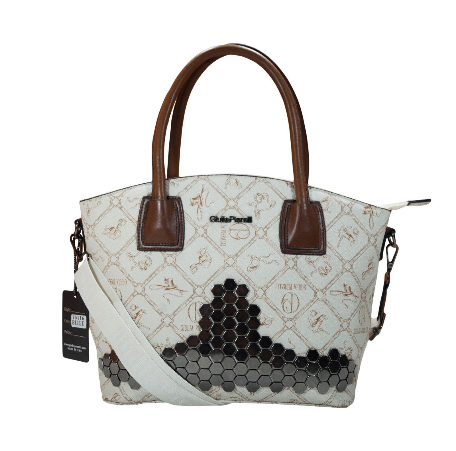 Damentasche Giulia Pieralli Pieralli Pieralli Handtasche Frauen Handtasche Henkeltasche Beige  | Outlet Store  | Gewinnen Sie das Lob der Kunden  | Deutschland Online Shop  1360e4