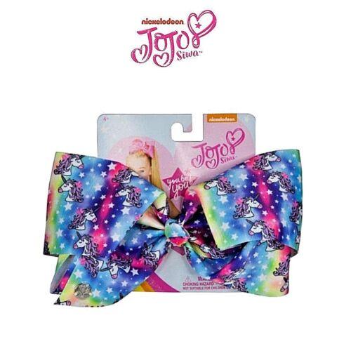 JoJo Bow Jo Jo Siwa Large Hair Clip Unicorn Girls Rhinestone Xmas Gift Licensed