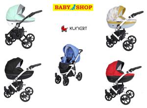 Stroller-Kunert-Mila-2in1-Carrycot-Troley-Pram-Sport-seat