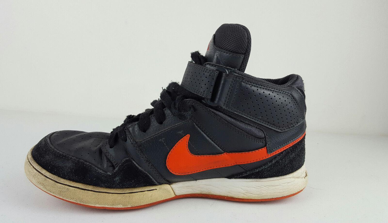 Nike Zoom Air Morgan 2 Mid Skateboard Strap Shoes Men's 9 407360-081  Casual wild