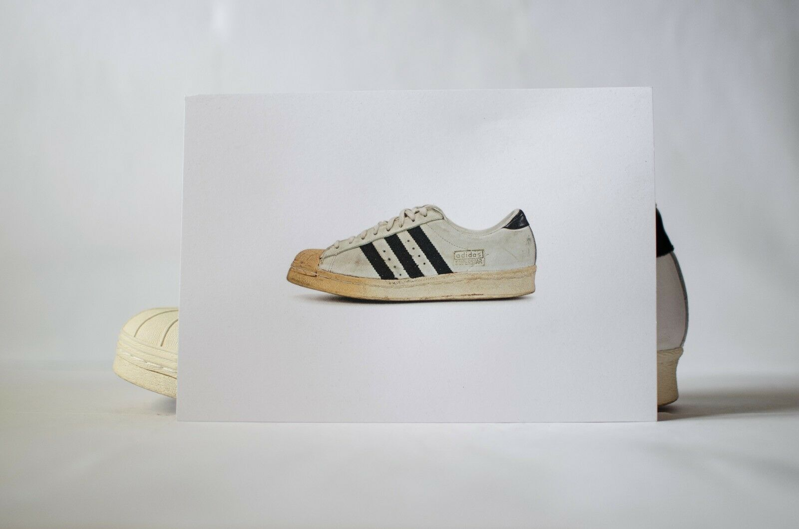 Adidas Consortium SUPERSTAR  vintage  made in in in France 6,5 US 6  3 Run Dmc 44a714