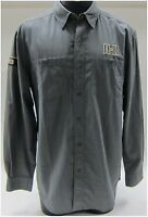 Harley-davidson Men's 5xxxxx Large Moisture Wicking Long Sleeve Shirt Grey