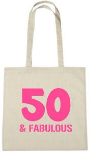 50 Fabulous Bag 50th Birthday Gifts