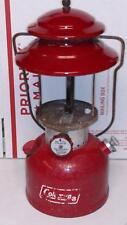 Vintage Red Coleman 200A Lantern, No Globe